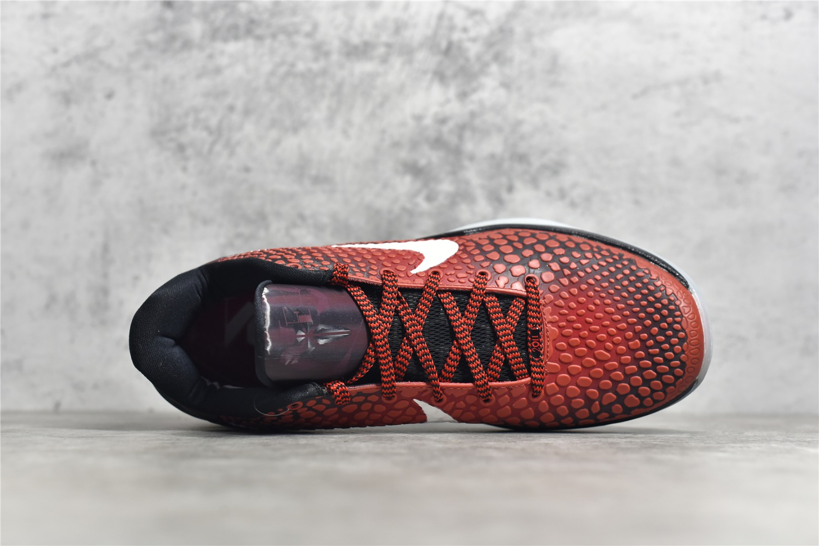 耐克科比6代全明星黑红实战球鞋 NIKE KOBE 6 PROTRO ALL STAR黑红全明星 科比球鞋复刻 货号:DH9888-600-潮流者之家