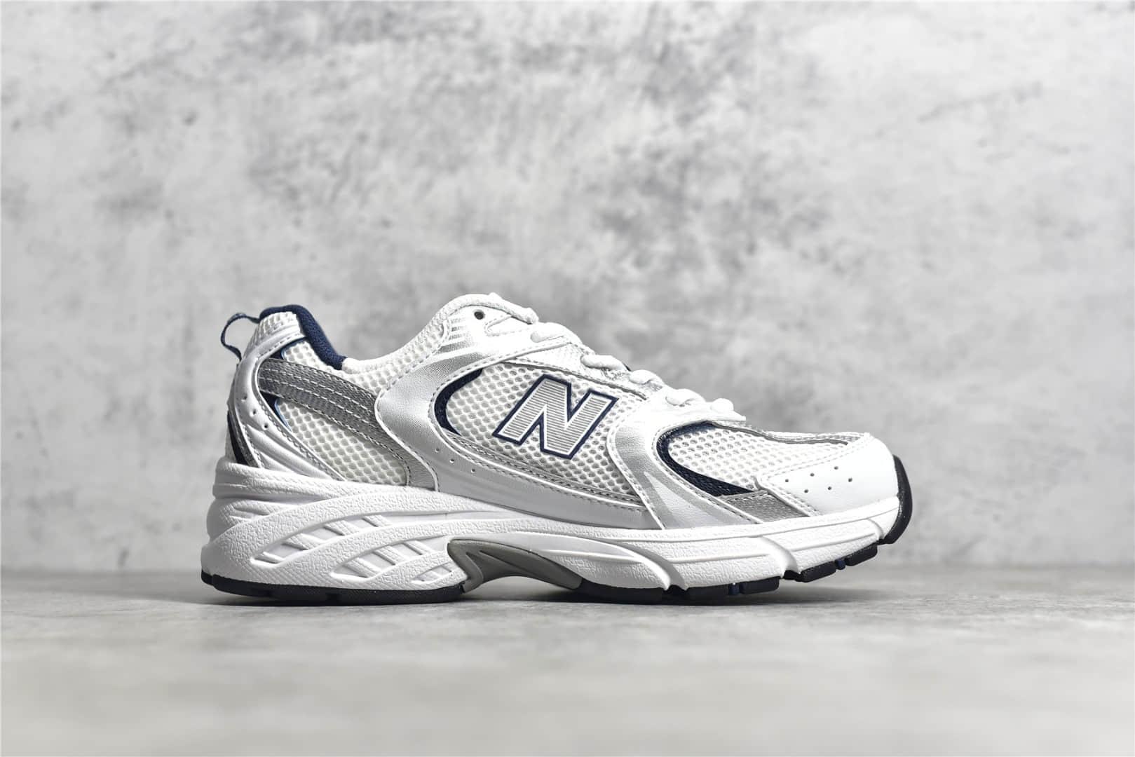 新百伦530纯原版本 NB530 New Balance 530 新百伦530白色顶级复刻 原厂材料莆田新百伦 货号:MR530SG-潮流者之家