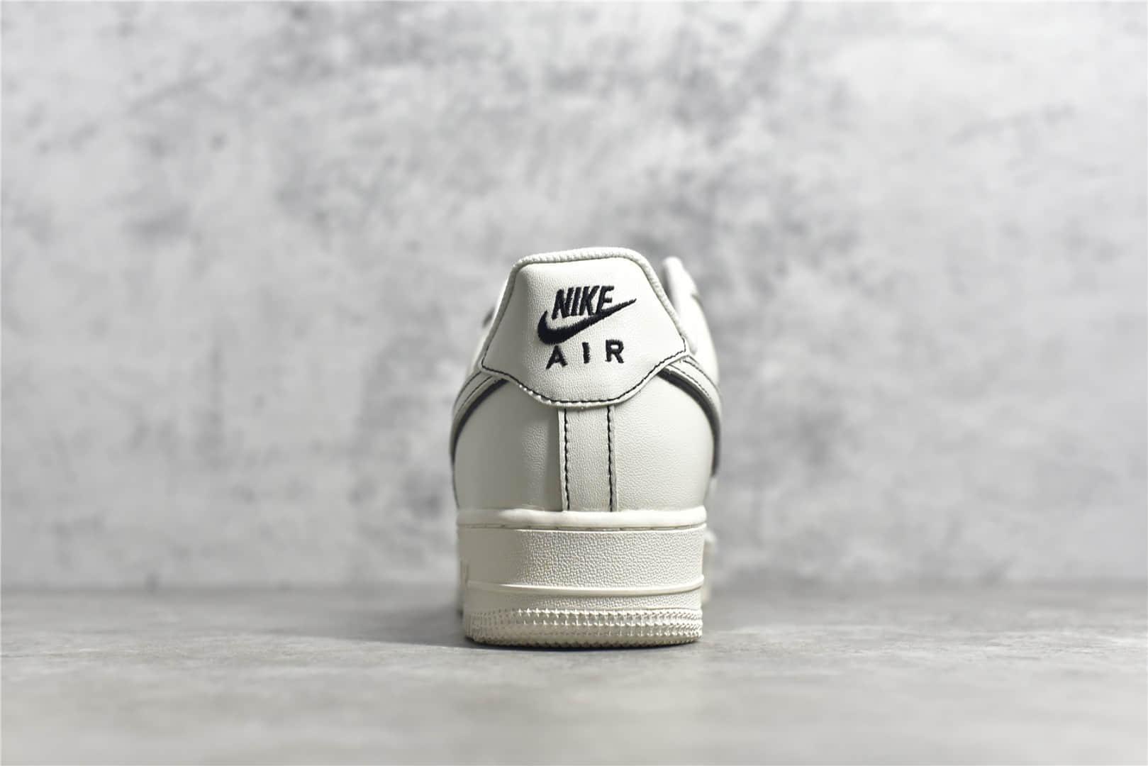 耐克空军手稿黑素面低帮Nike Air Force 1`07 Low CJ纯原版本莆田空军复刻顶级版本 货号:315122-808-潮流者之家