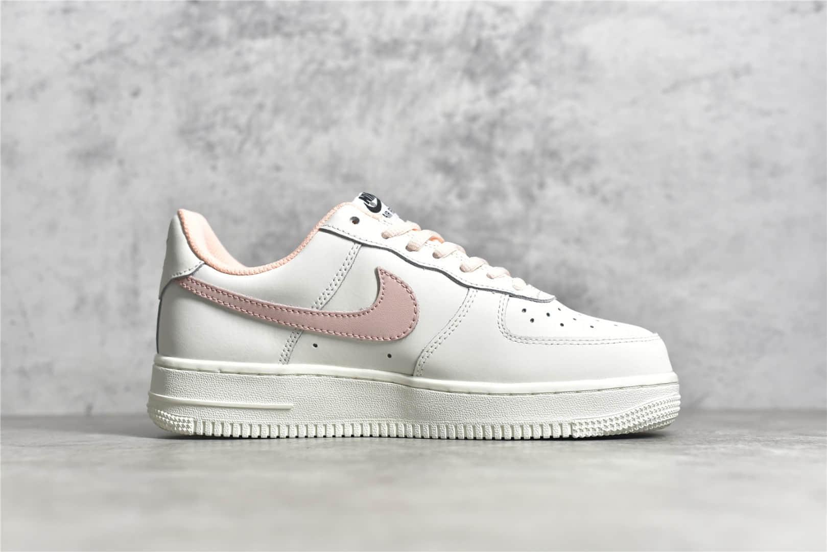 耐克空军白粉低帮 NIKE Air Force 1 顶级版本耐克空军一号纯原版本耐克空军女子板鞋 货号:CQ5059-106-潮流者之家