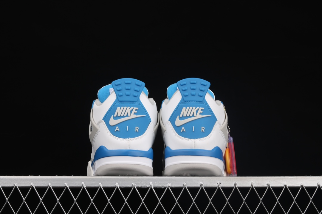AJ4白蓝实战篮球鞋 莆田顶级AJ货源 Air Jordan 4 Retro