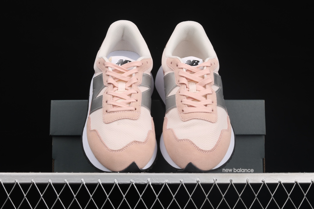 新百伦MS327粉色跑鞋 New Balance MS237系列复古轻跑鞋 新百伦运动慢跑鞋 货号:MS237CA-潮流者之家