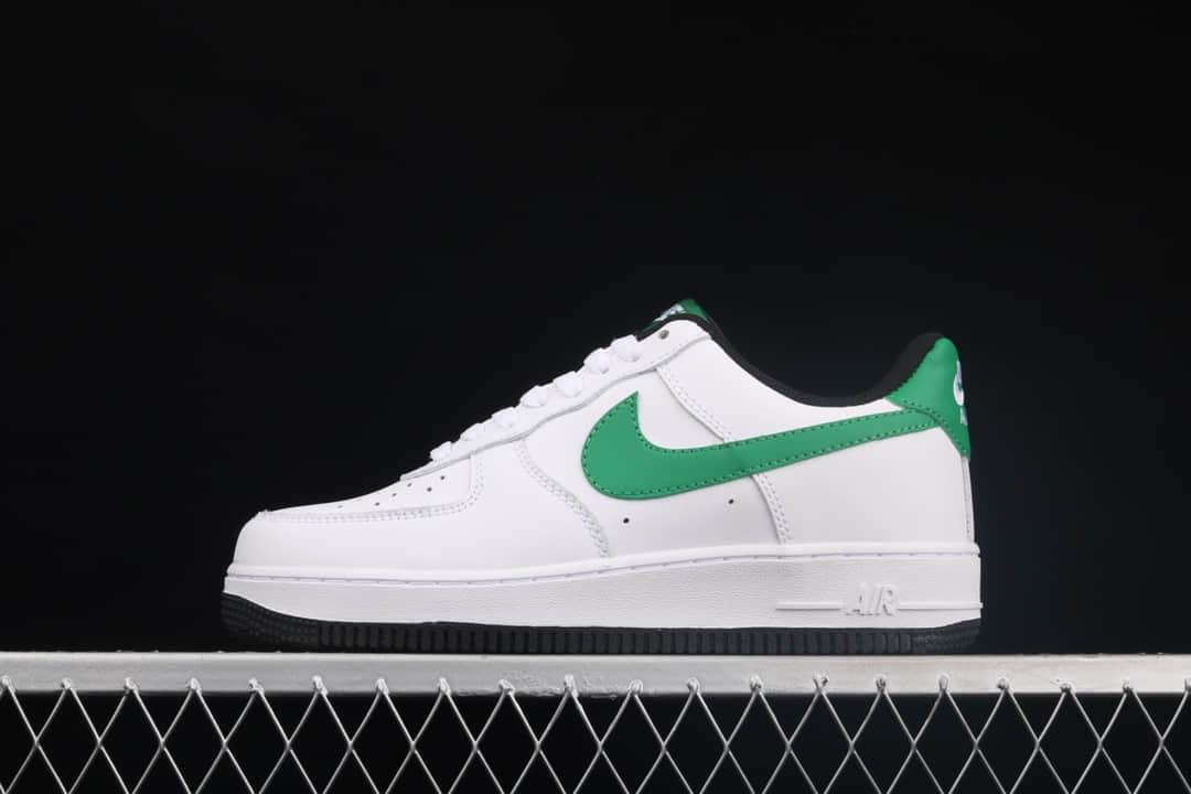 耐克空军白绿低帮纯原版本 Nike Air Force 1'07 空军一号低帮休闲板鞋 耐克空军厂家 货号:315122-103-潮流者之家