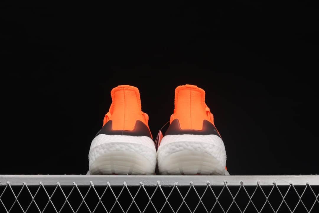 阿迪达斯UB7.0轻跑鞋 Adidas Ultra Boost 2021 Consortium阿迪达斯UB2021橙白色巴斯夫真爆 货号:FZ1920-潮流者之家