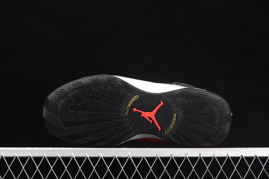AJ35白黑色实战篮球鞋 Air Jordan XXXV Sp-Tp PF 纯原版本AJ原厂篮球鞋 莆田AJ工厂 货号:DD4701-001-潮流者之家