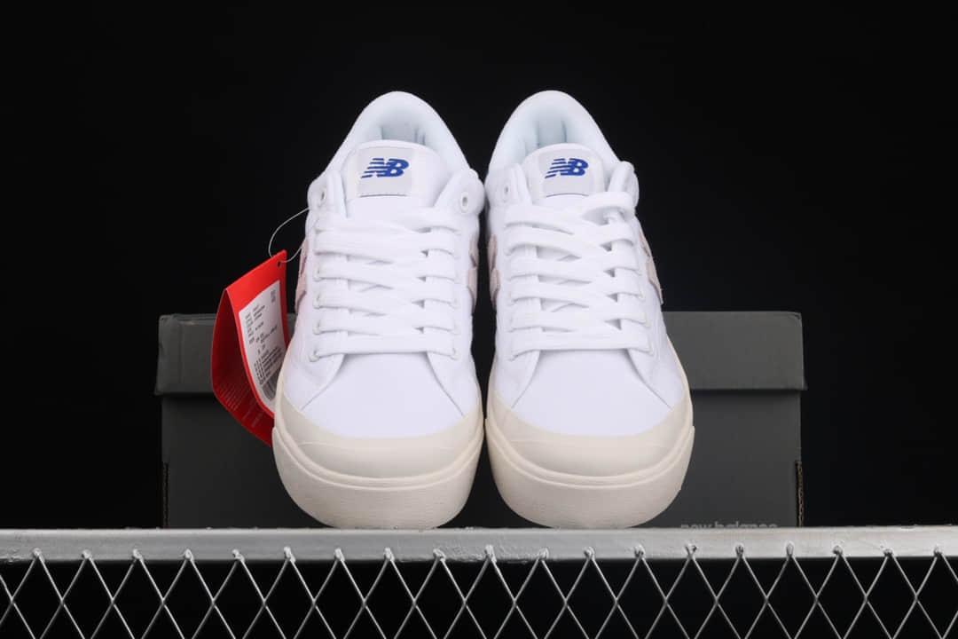 新百伦开口笑板鞋 NB开口笑白色低帮板鞋 New Balance Proctsen新百伦校园情侣板鞋 高品质NB板鞋 货号:PROCTWT-潮流者之家