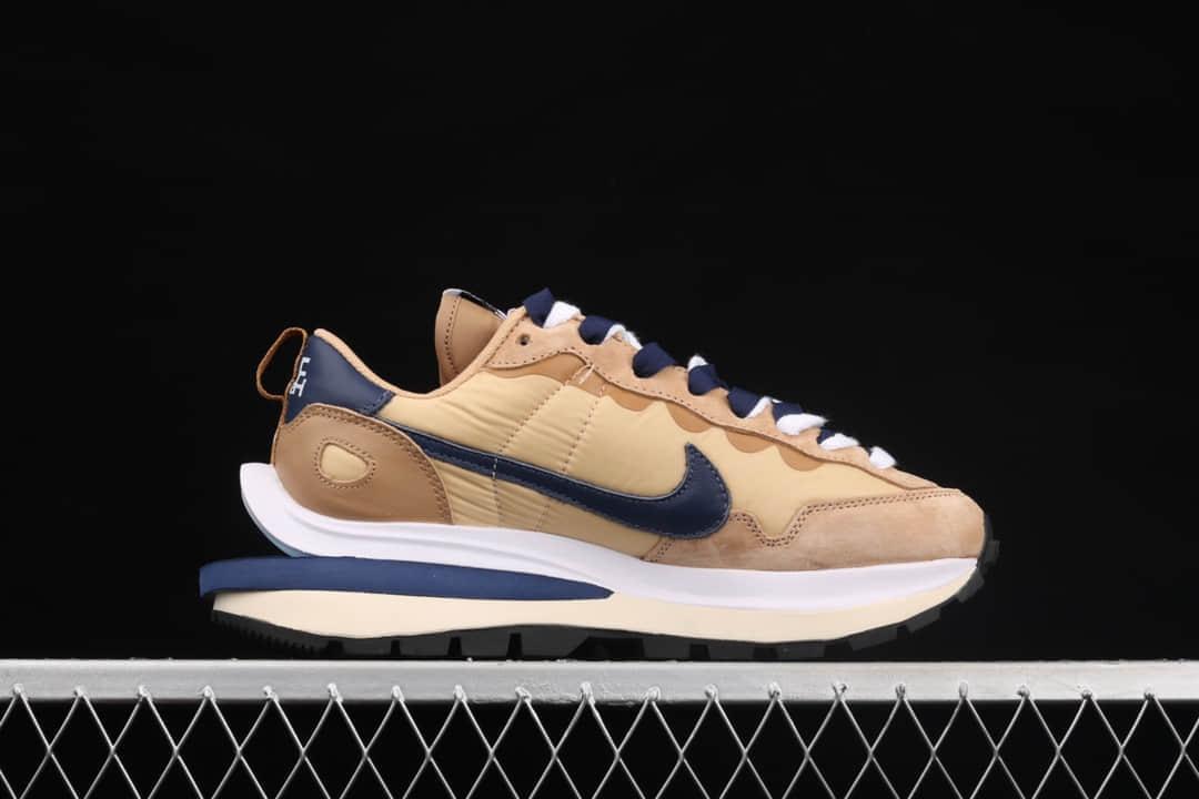 耐克华夫Sacai联名卡其芝麻色 SacaiX Nike VaporWaffle