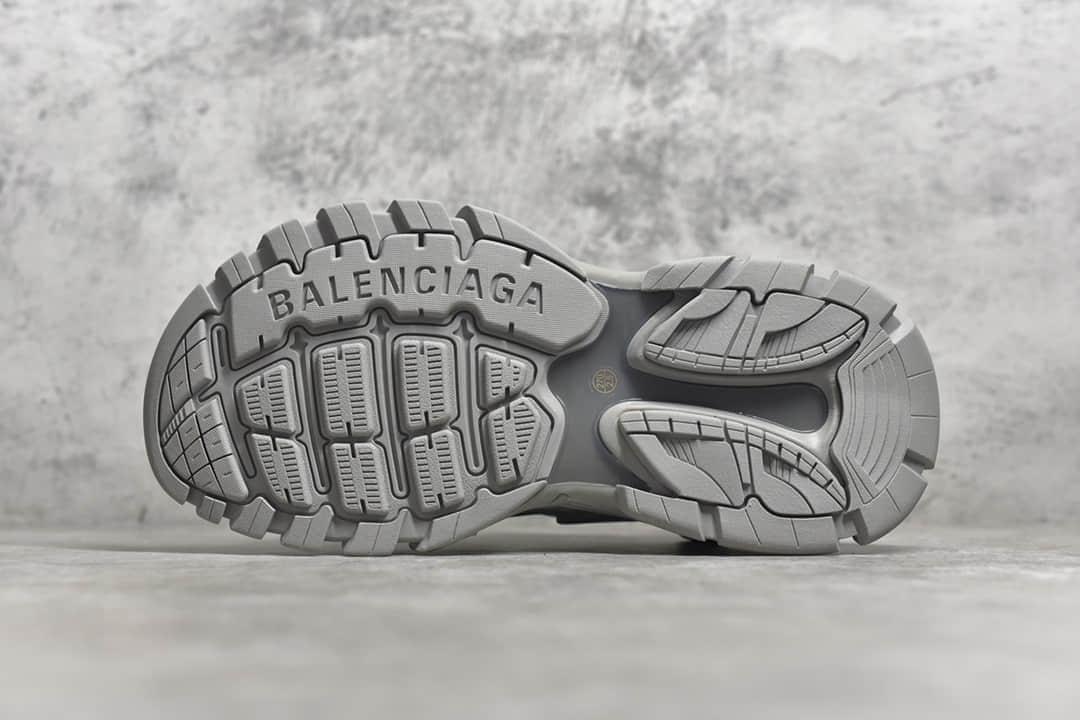 巴黎世家灰色老爹鞋巴黎世家凉鞋 Balenciaga Track Sandal Sneakers