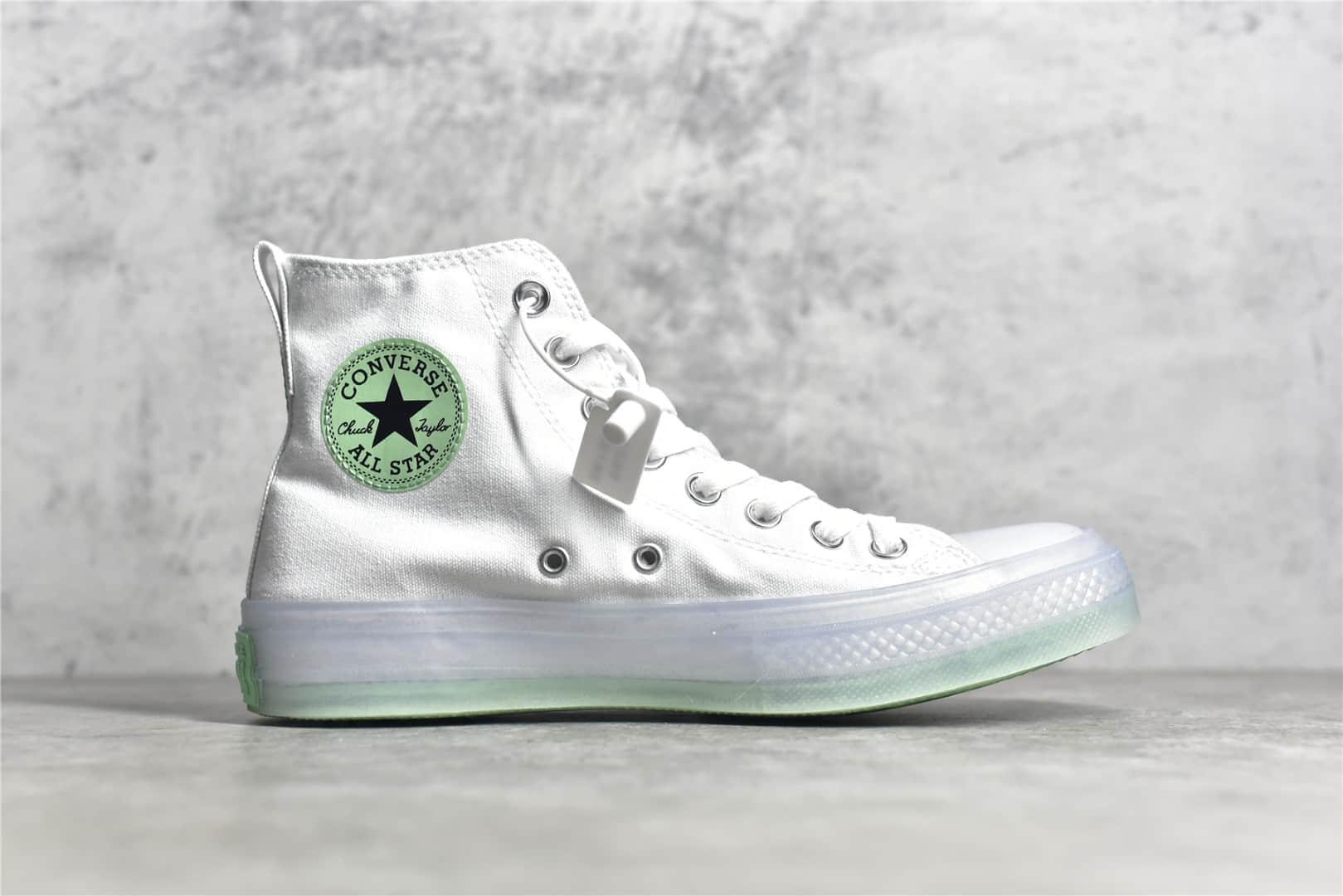 匡威白敬亭签名手绘涂鸦帆布鞋Converse Chuck 70s CX 匡威手绘涂鸦匡威皇冠流星 货号:171228C-潮流者之家