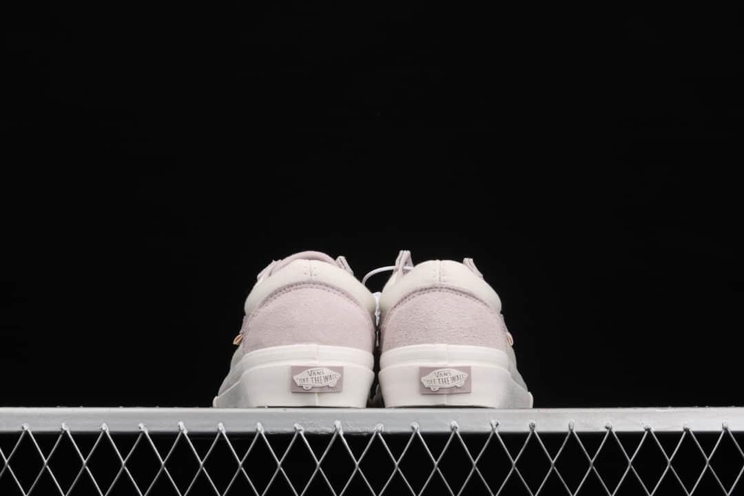 万斯新香芋冰淇淋低帮 Vans Skate Classics Old Skool 莆田万斯工厂货源 原厂纯原版本万斯 货号:VN0A5KS96SW-潮流者之家