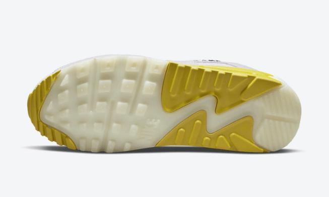 耐克MAX90灯芯绒麂皮 Nike Air Max 90 耐克MAX90多材料拼接炫彩鞋身 耐克MAX90新款 货号:DM8075-100-潮流者之家