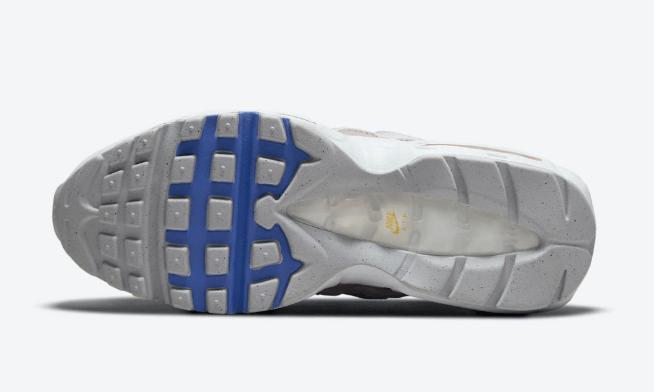 """耐克MAX95渐变色 耐克新款老爹鞋Nike Air Max 95 """"White Multi"""" 耐克全新AIR MAX95官图 货号:DH5722-100-潮流者之家"""
