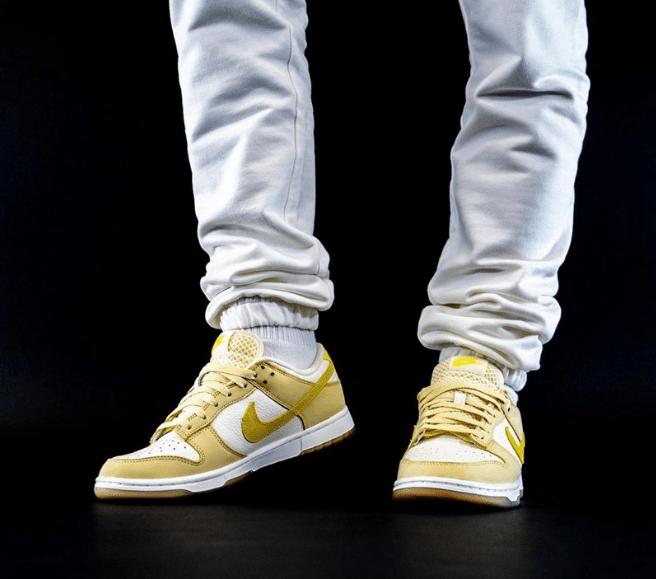 """耐克Dunk柠檬黄低帮新款发售 Nike Dunk Low """"Lemon Drop"""" 耐克Dunk黄色低帮板鞋 货号:DJ6902-700-潮流者之家"""