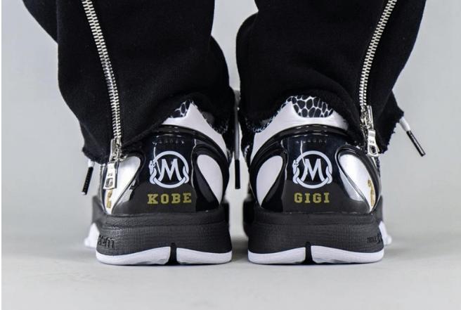 """耐克科比6代黑曼巴永恒 Nike Kobe 6 Protro """"Mamba Forever"""" 耐克科比6代黑白色球鞋 货号:CW2190-002-潮流者之家"""