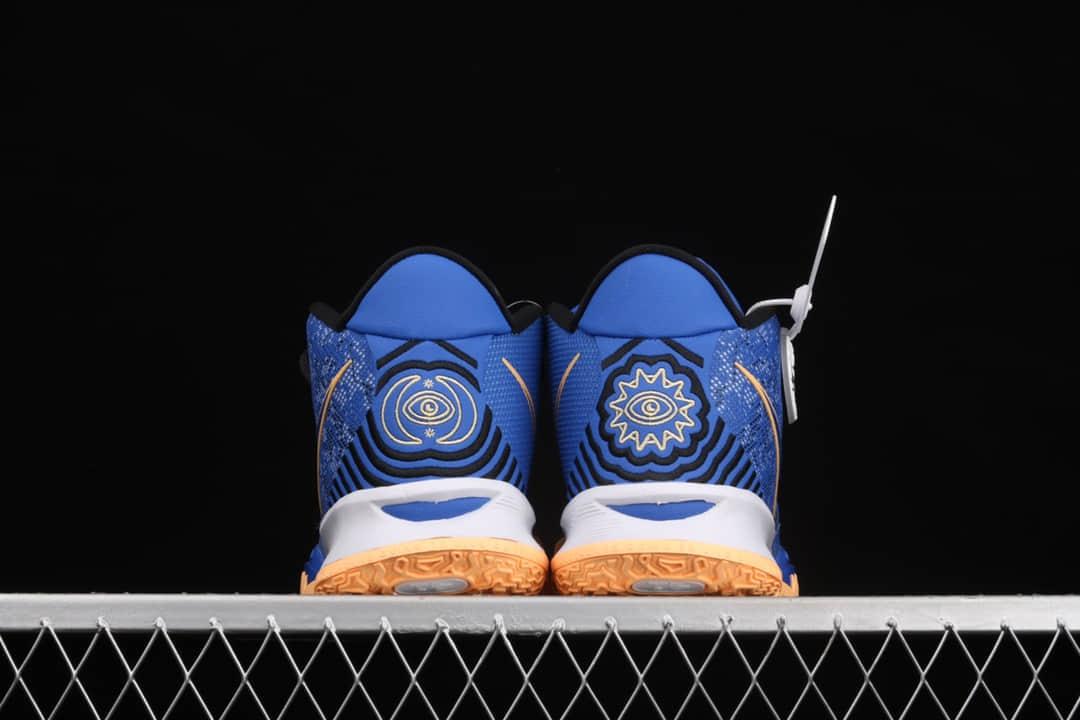 耐克欧文7代兄弟蓝 Nike Kyrie 7
