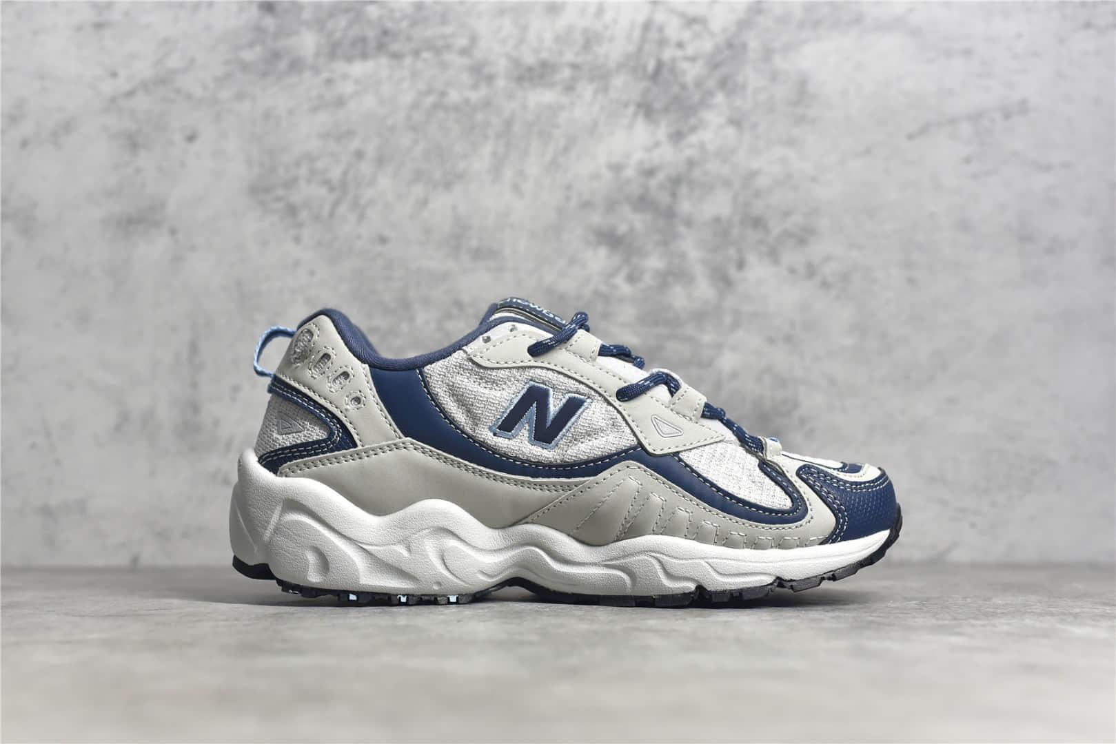新百伦NB703灰色老爹鞋 美国新百伦 New Balance ML703系列 NB新款轻跑鞋 货号:WL703CLB-潮流者之家