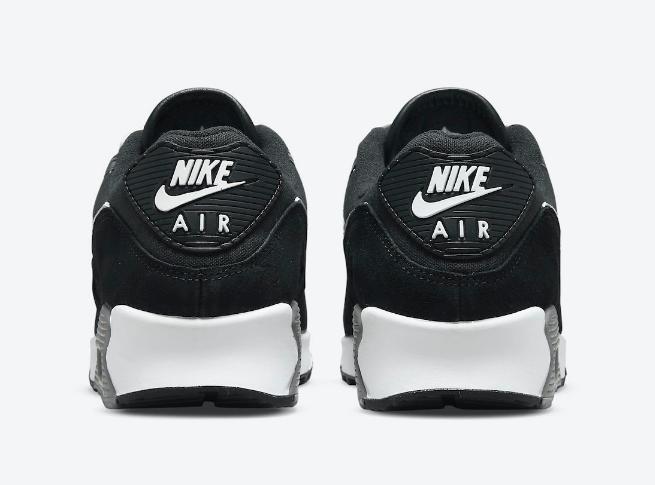 耐克MAX90灰黑全新配色 Nike Air Max 90 Premium 耐克MAX90麂皮 货号:DA1641-003-潮流者之家