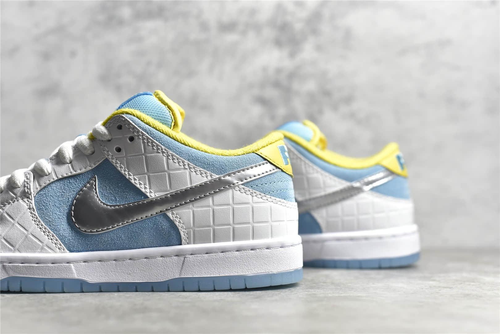 耐克SB Dunk FTC联名款 FTC x Nike SB Dunk Low 耐克SB DUNK白蓝低帮2021新款 货号:DH7687-400-潮流者之家