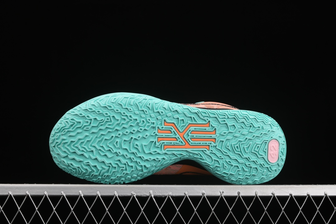 欧文7代玩转未来橘蓝色高帮 Nike Kyrie 7