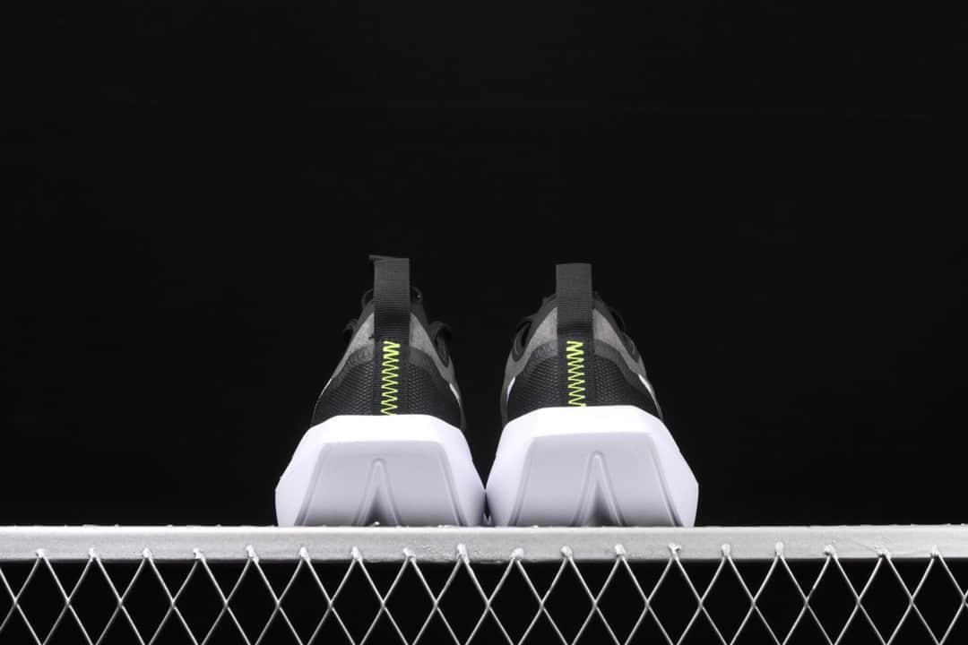 """耐克维斯塔黑白色增高鞋 Nike Vista Lite""""White Orango"""" 耐克黑色网面跑鞋 耐克蝉翼镂空跑鞋 货号:CI0905-001-潮流者之家"""