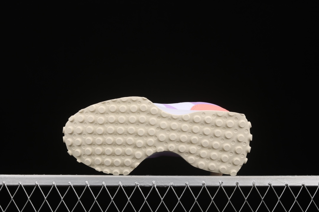 新百伦NB327拼接色轻跑鞋 New Balance MS327 莆田公司级新百伦复刻 NB复古跑鞋 货号:WS327PA-潮流者之家