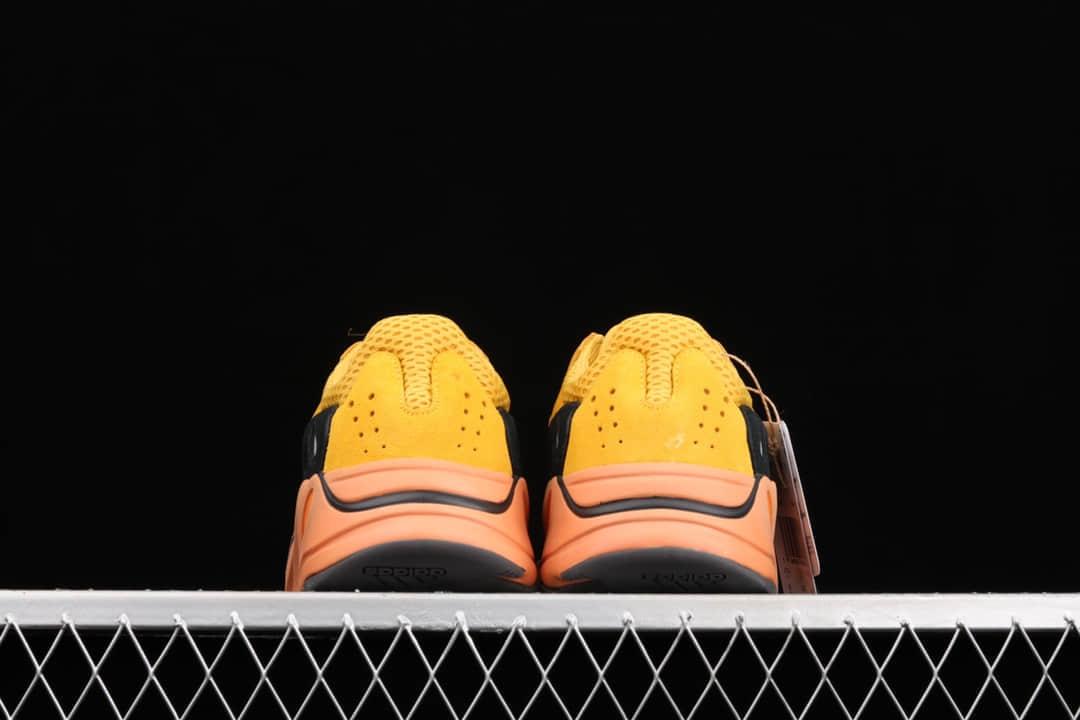 椰子700太阳橙黄配色 adidas Yeezy Boost 700 V2