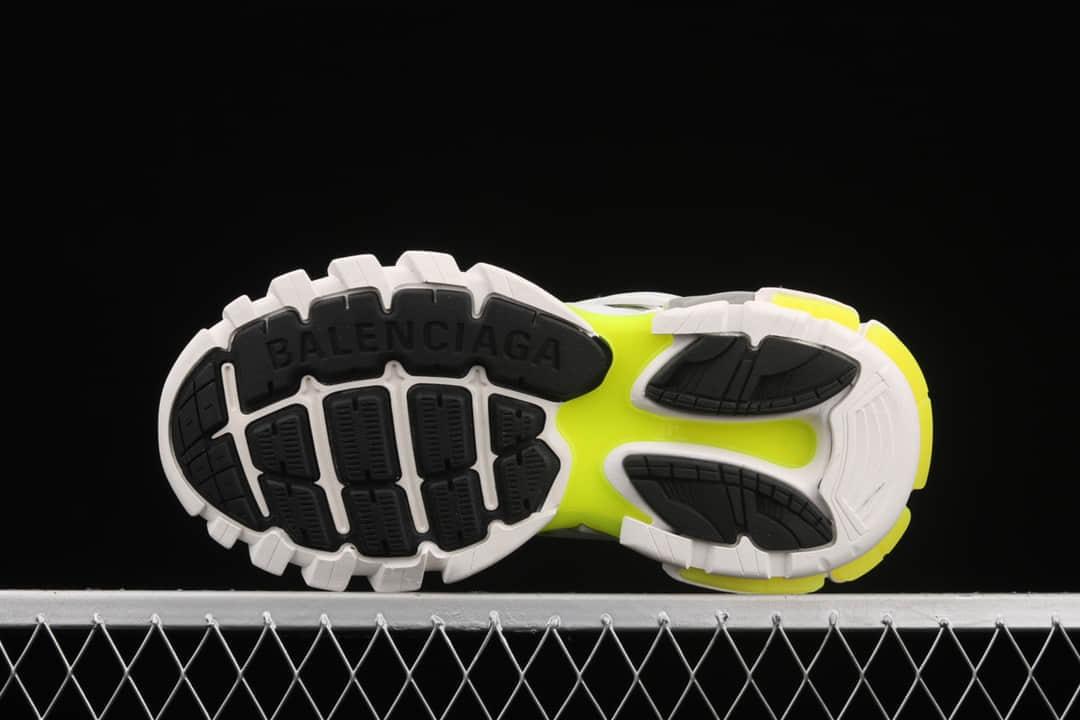 巴黎世家三代不带灯老爹鞋 Balenciaga Sneaker Tess s.Gomma Res BI ALV 意产纯原版本巴黎世家代工厂 货号:W1GC39070-潮流者之家