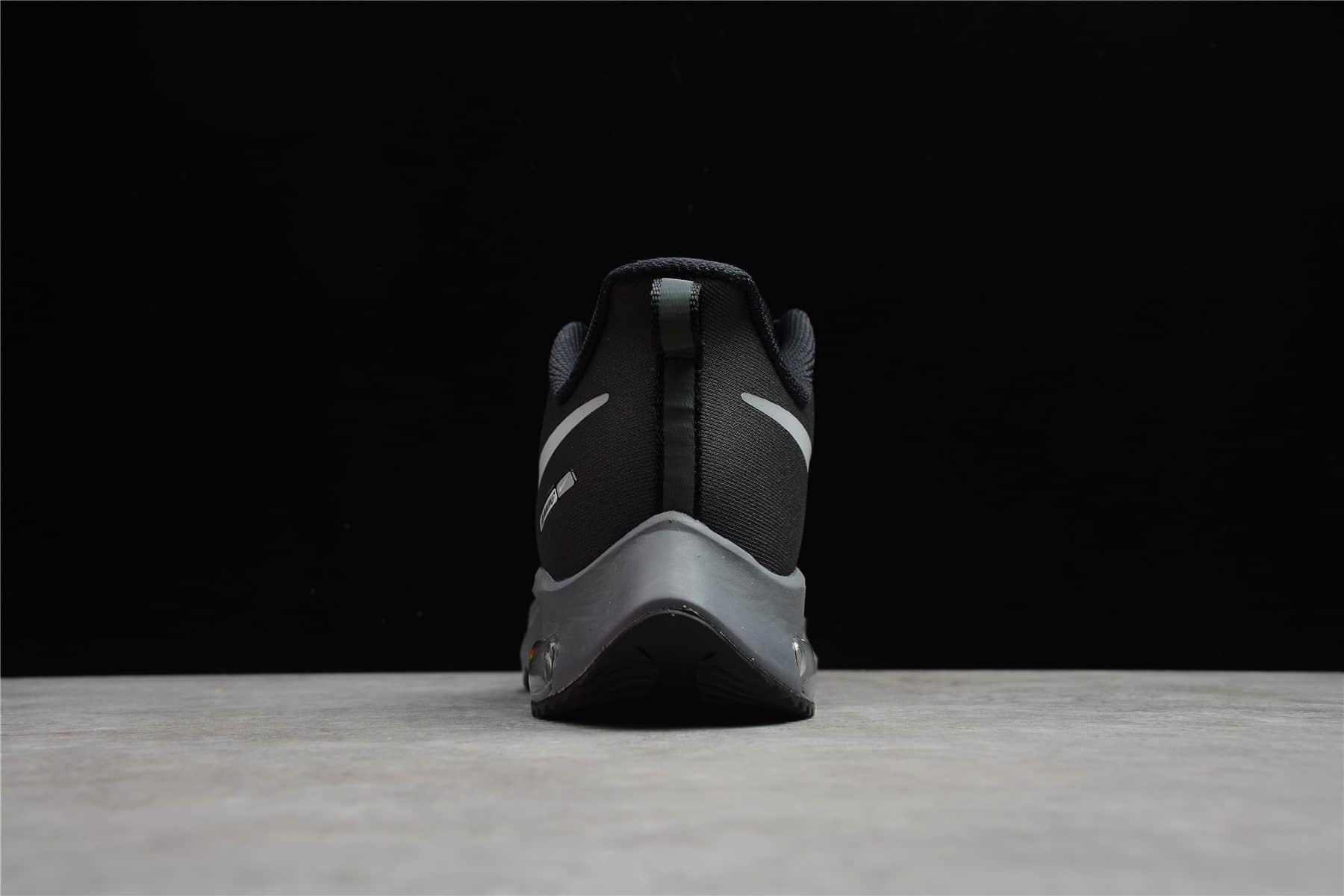 耐克登月38代黑色跑鞋 Nike Air Zoom Structure 38X 公司级耐克登月透气跑鞋 耐克登月新款 货号:DJ3128-002-潮流者之家