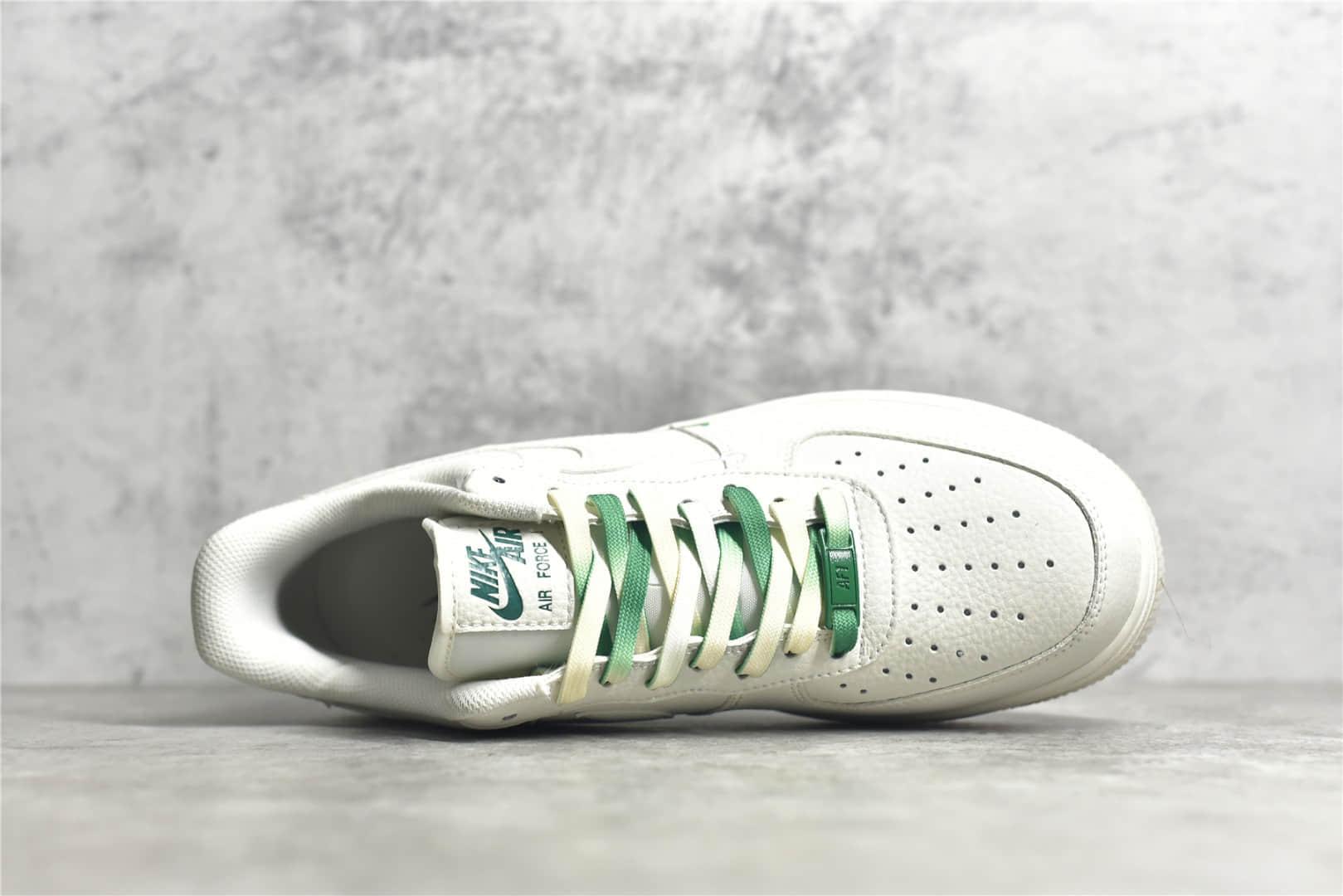 耐克空军米白绿波士顿城市限定 Nike Air Force 1 Low 07 耐克空军限定款 耐克空军白绿低帮 货号:BO6638-160-潮流者之家