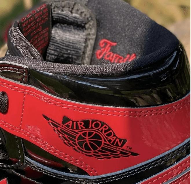 "AJ1黑红漆皮版本 AJ1黑红高帮 Air Jordan 1 High OG ""Bred Patent"" 经典AJ1黑红复刻 货号:555088-063-潮流者之家"