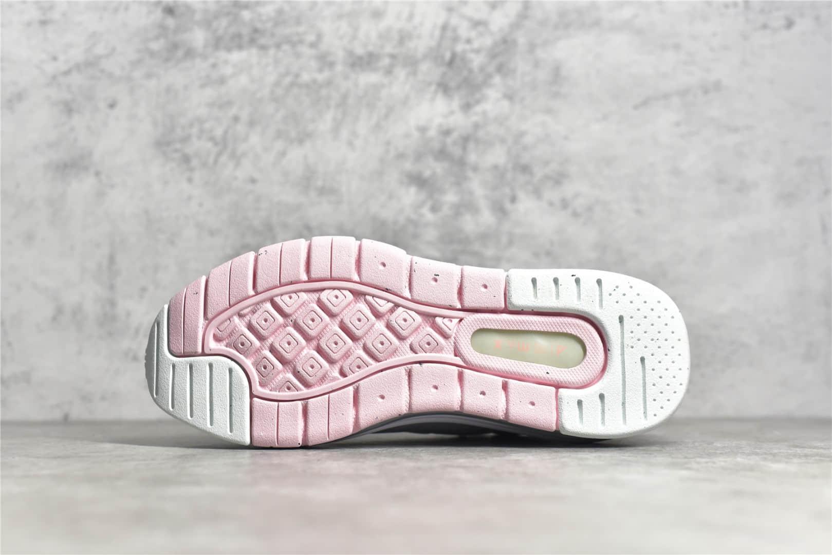 耐克MAX白粉色跑鞋 Nike Air Max Genome 耐克MAX白粉色跑鞋 莆田耐克跑鞋货源 货号:CW1648-004-潮流者之家