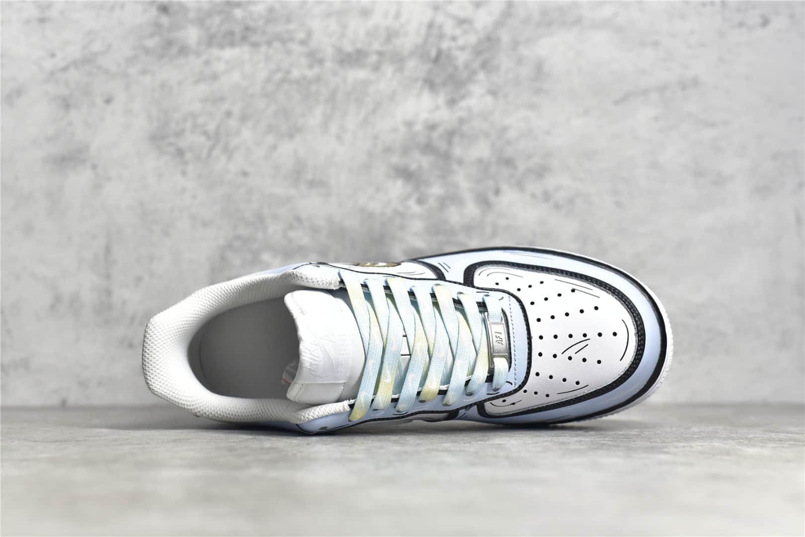 耐克空军冰雪奇缘涂鸦 Nike Air Force 1'07 Low 莆田耐克空军CJ纯原版本 二次元主题 货号:CW2288-212-潮流者之家