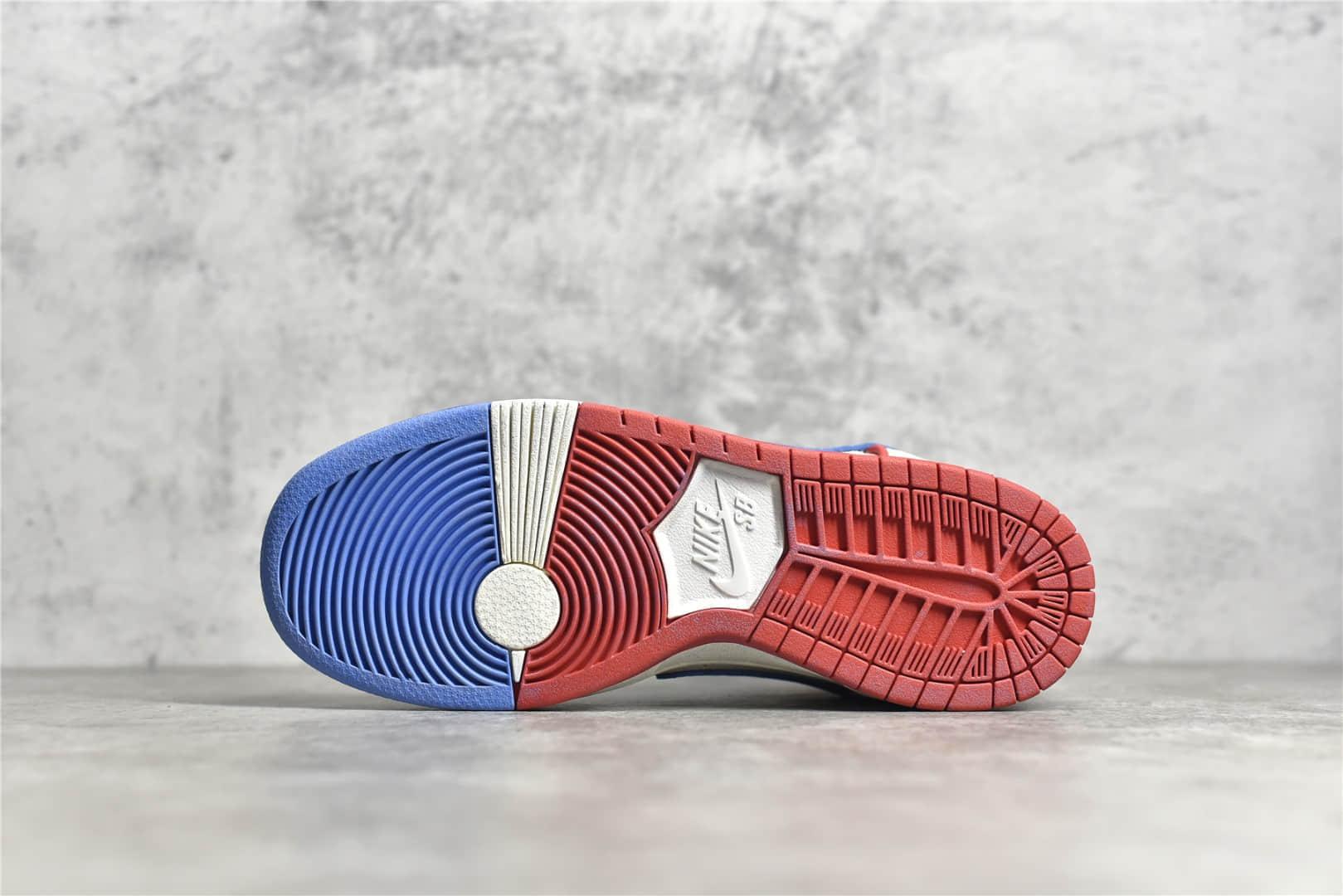 耐克Dunk保时捷911 耐克Dunk白蓝红高帮 Nike Dunk High Pro Decon QS 纯原版本原厂耐克Dunk厂家 货号:DH7683-100-潮流者之家