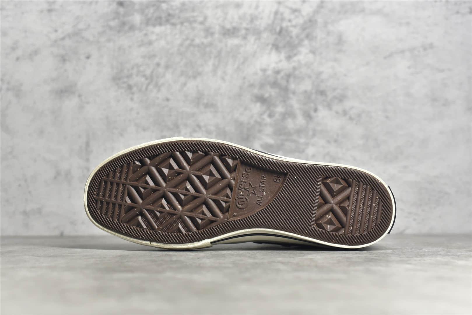 匡威新款拼色高帮帆布鞋 Converse 1970S 2021 匡威2021新款 匡威1970S高帮 货号:170838C-潮流者之家