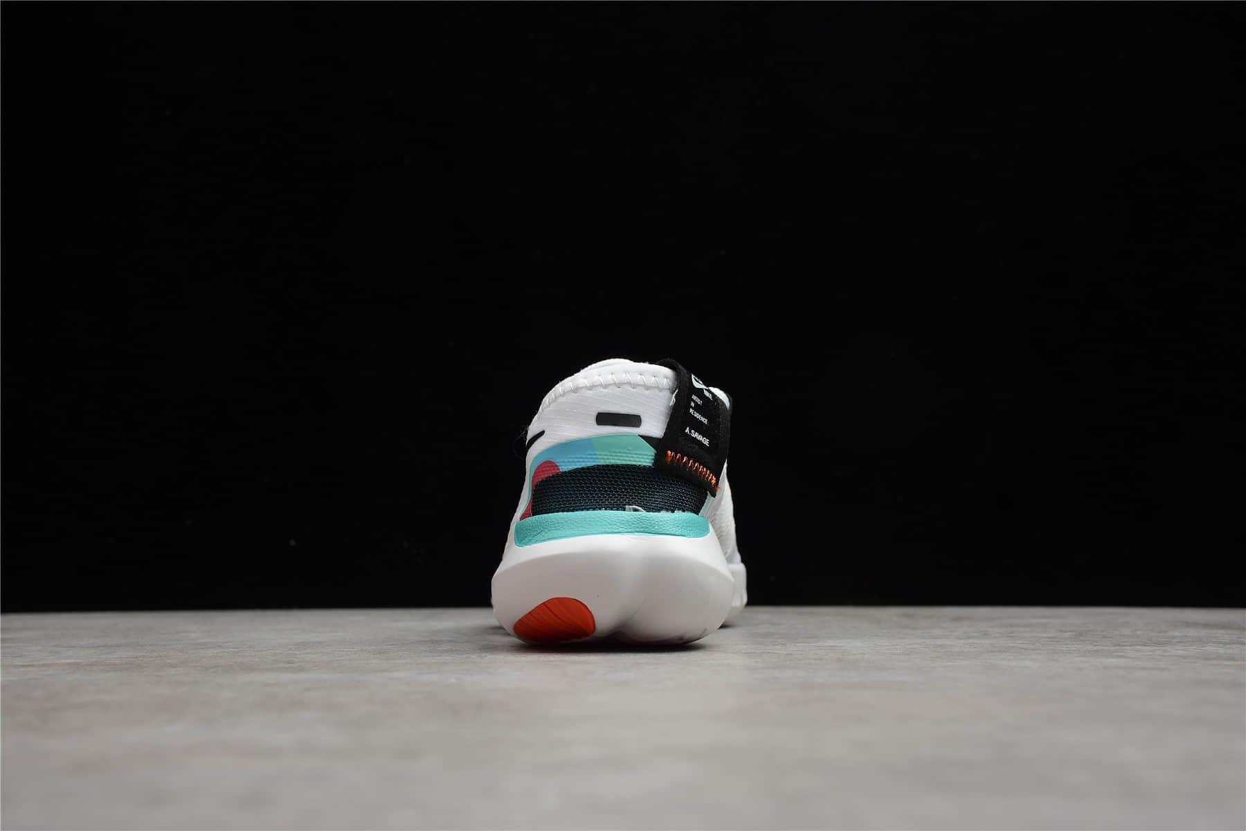 耐克童鞋耐克赤足5.0童鞋 NIKE FREE RN 5.0 AS 耐克缓震童鞋 耐克透气童鞋 货号:CV9305-100-潮流者之家