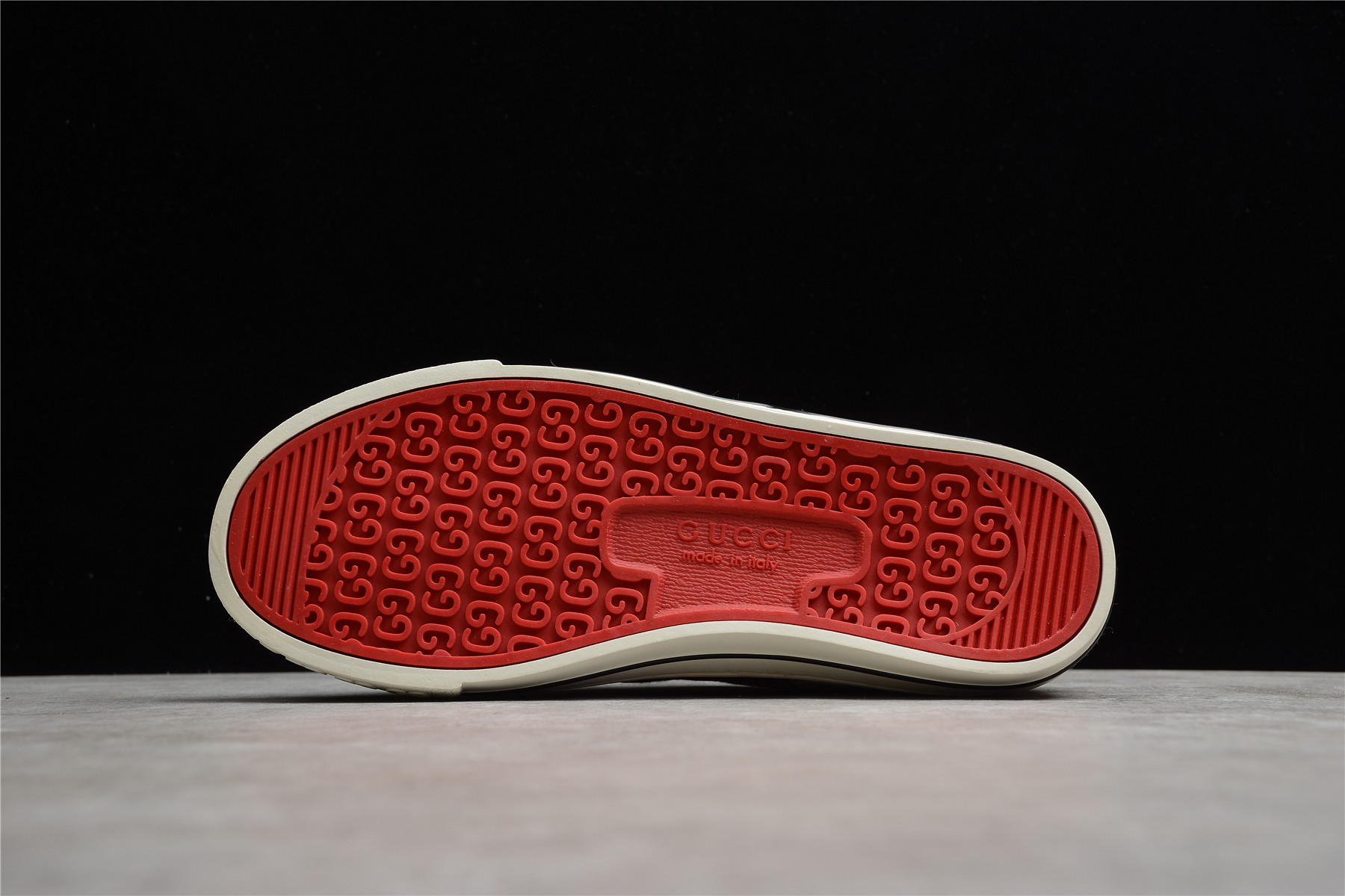古驰乌木色板鞋莞产纯原 Gucci Tennis 1977系列 古驰经典板鞋 古驰奢侈板鞋 货号:606111-H0T10-988H-潮流者之家