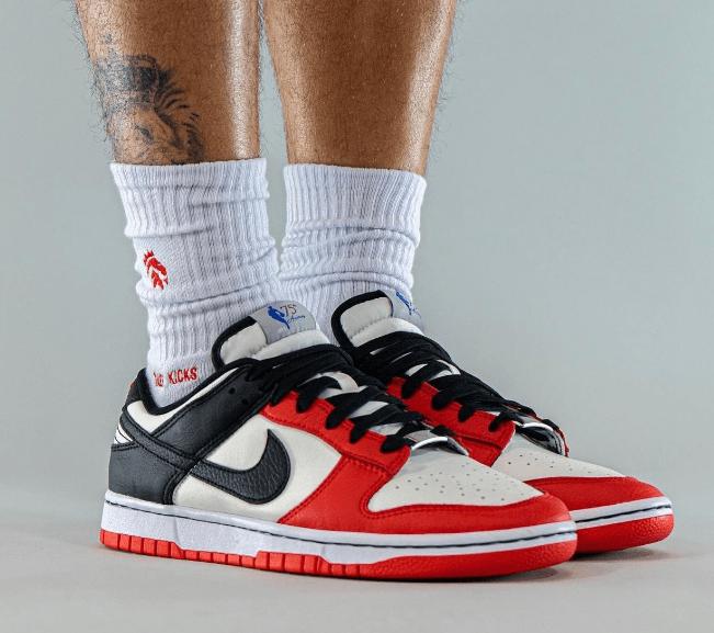 """耐克Dunk芝加哥耐克Dunk尼克斯 NBA x Nike Dunk Low EMB """"Chicago"""" """"Knicks"""" 耐克NBA联名 货号:DD3363-100-潮流者之家"""