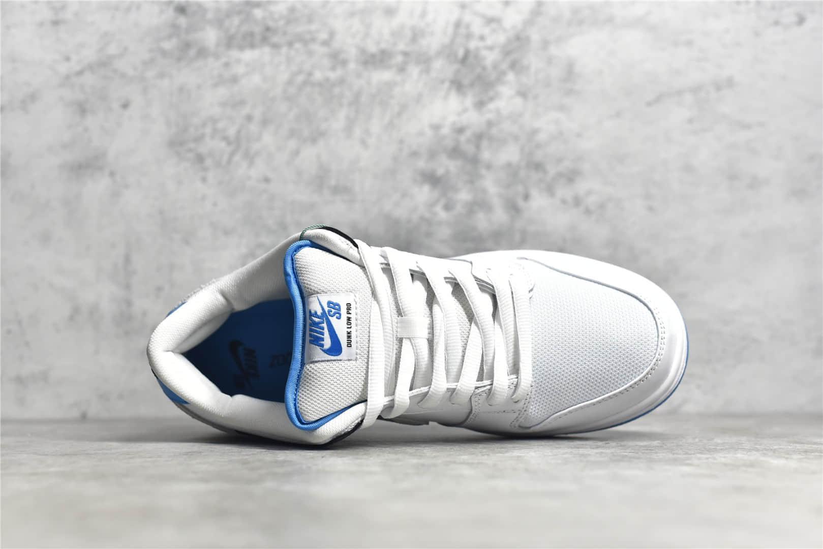 耐克Dunk SB白黑蓝低帮 Nike SB Dunk Low