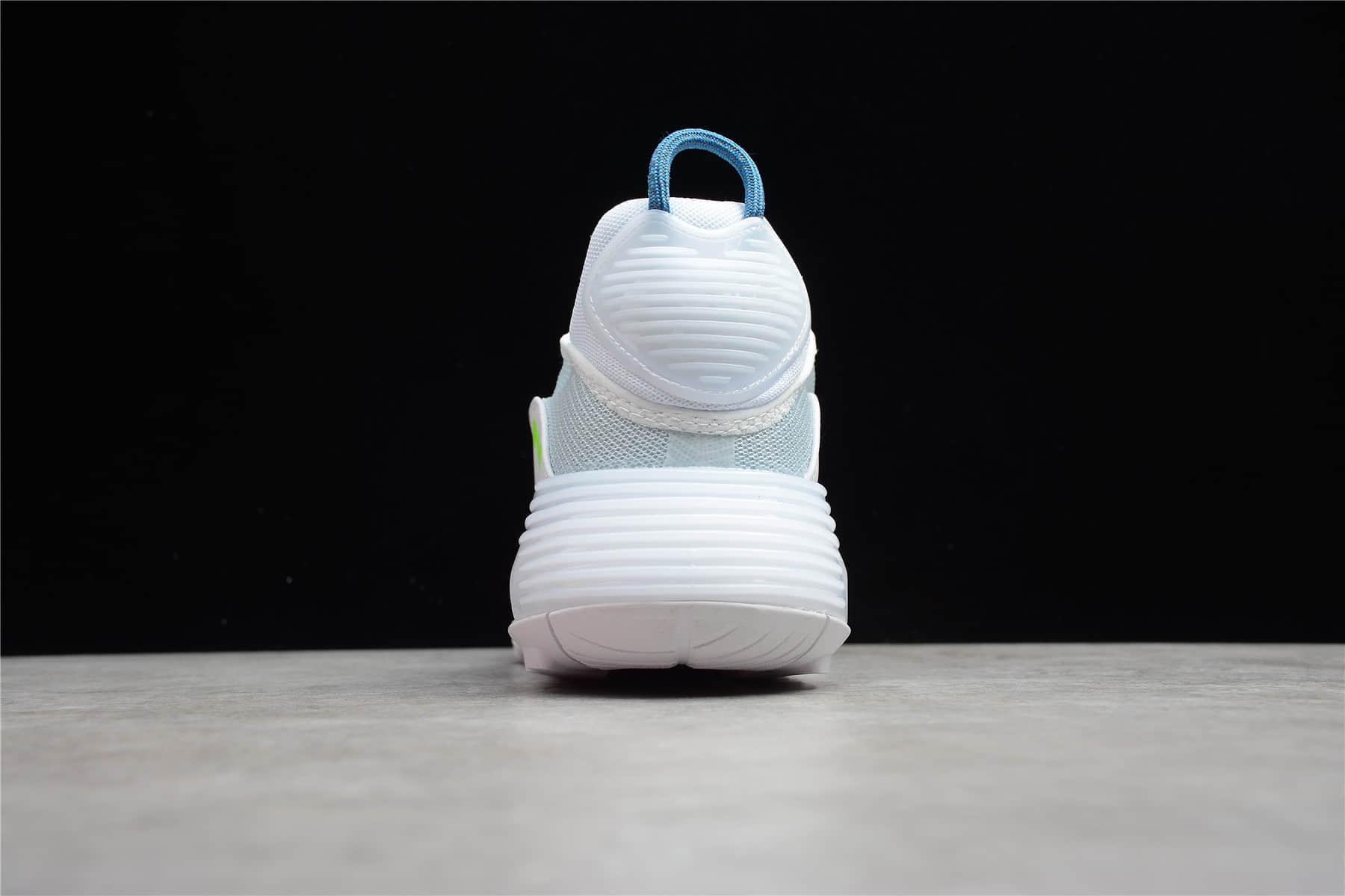 耐克MAX2090薄荷绿轻跑鞋 Nike Air Max 2090 蝉翼网面气垫运动跑鞋白蓝绿 货号:CZ1708-002-潮流者之家