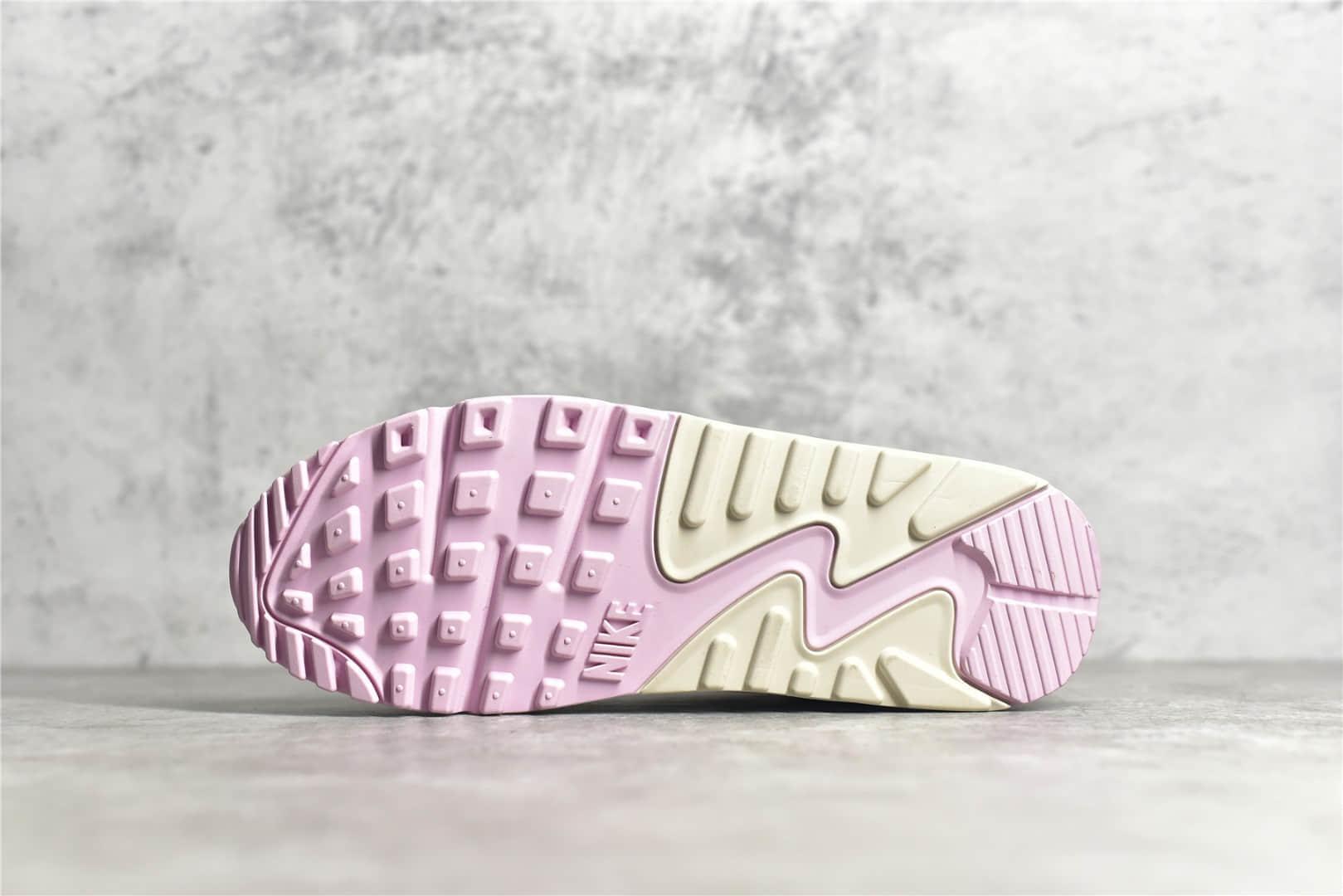 耐克MAX90奶昔 耐克气垫跑鞋纯原版本 Nike Air Max 90 粉白 奶希 货号:CT1873-100-潮流者之家