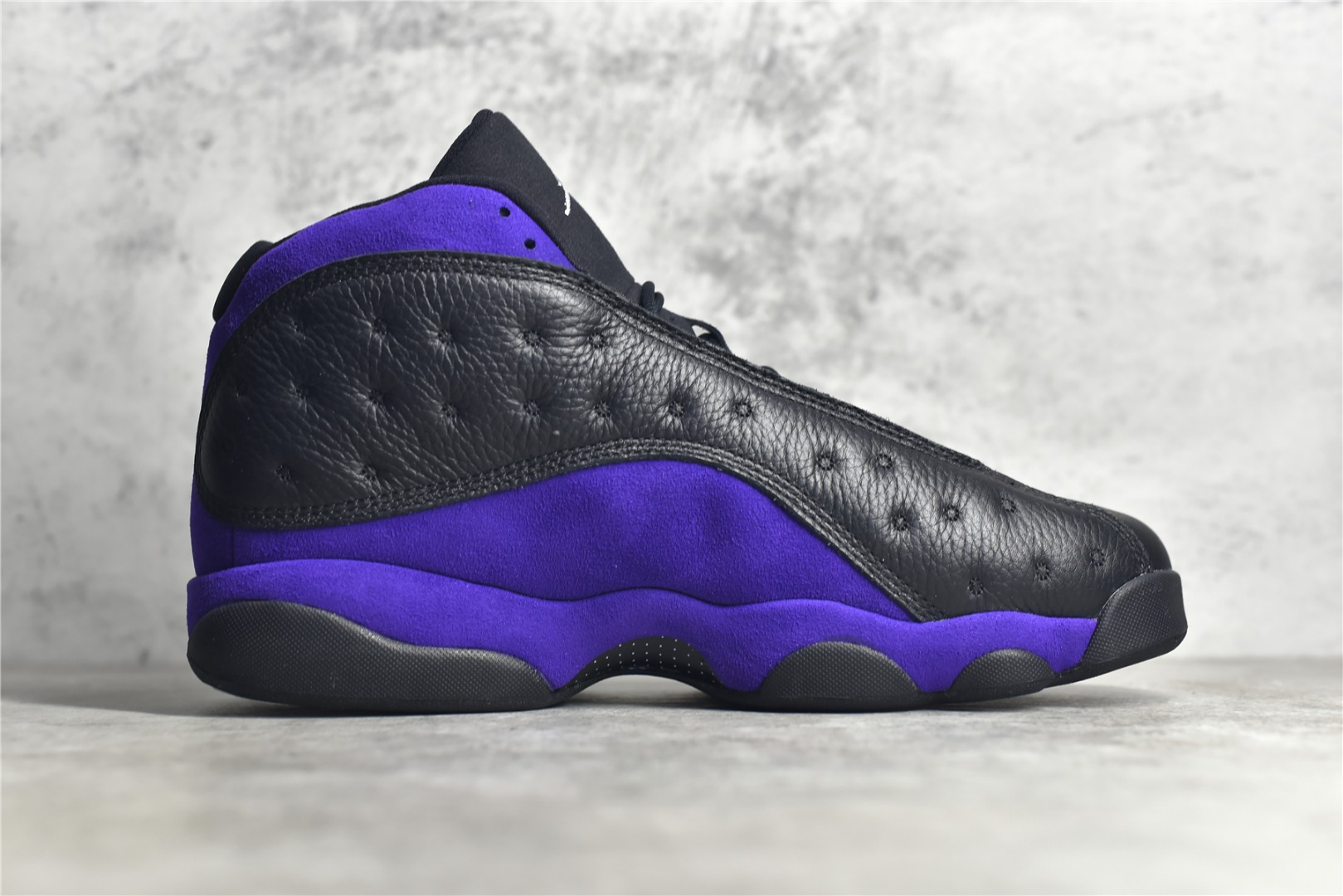 "PK纯原版本AJ13黑紫 Air Jordan 13 Retro ""Court Purple"" AJ13真猫眼 AJ13原厂真碳纤维缓震球鞋 货号:DJ5982-015-潮流者之家"