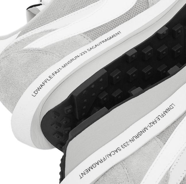 耐克闪电Sacai三方联名两款新配色 Fragment x Sacai x Nike LDWaffle 耐克闪电联名 耐克Sacai联名 货号:DH2684-400/DH2684-001-潮流者之家