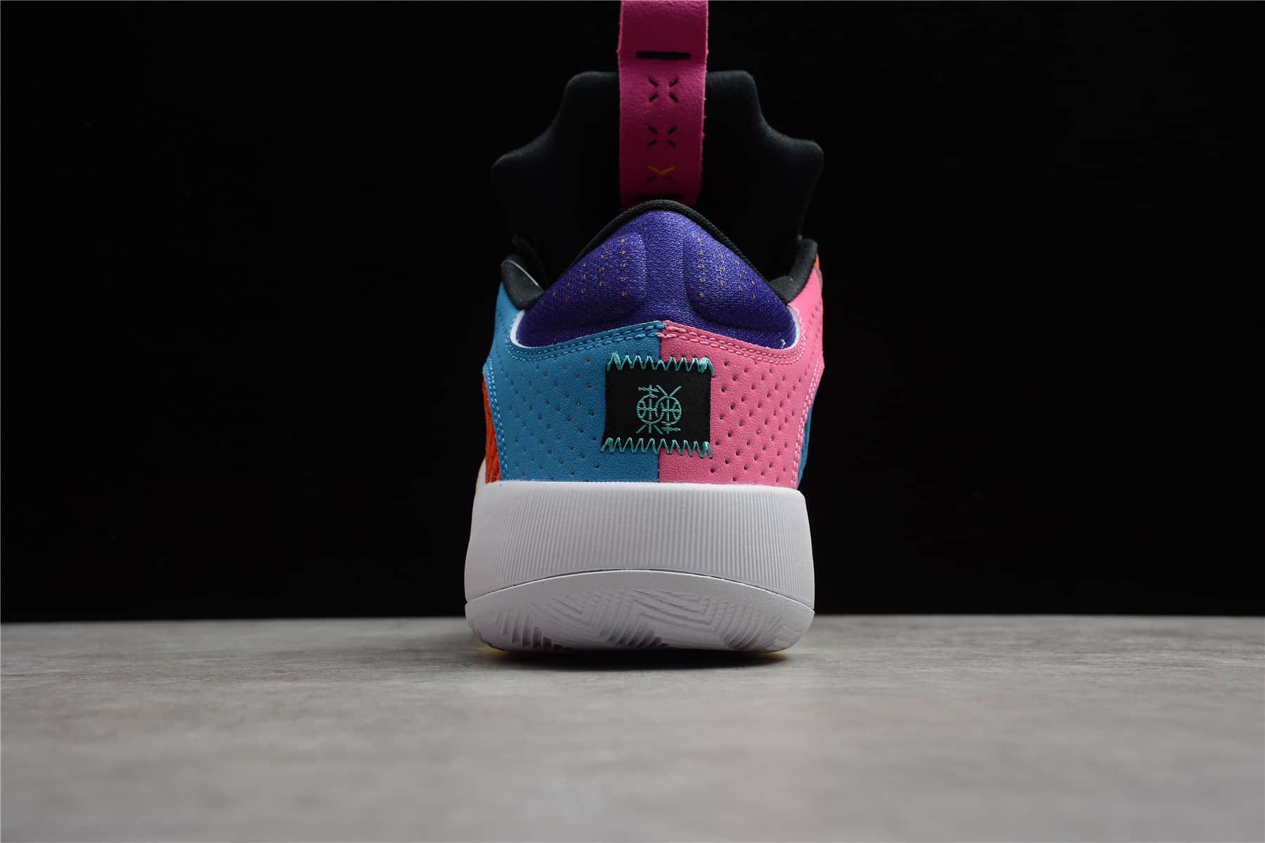 "AJ35东单篮球鞋 AJ35Air Jordan 35 Low ""Reflexology"" AJ35实战篮球鞋 AJ反光球鞋 货号: DJ2831-300-潮流者之家"