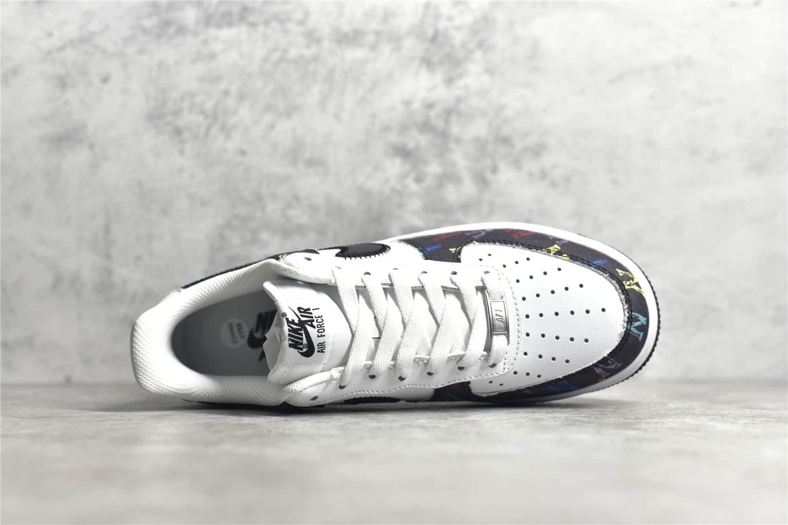 耐克空军一号洋基队联名款 Nike Air Force 1 Low '07 MLB 耐克空军帆布皮革拼接低帮 货号:315122-444-潮流者之家