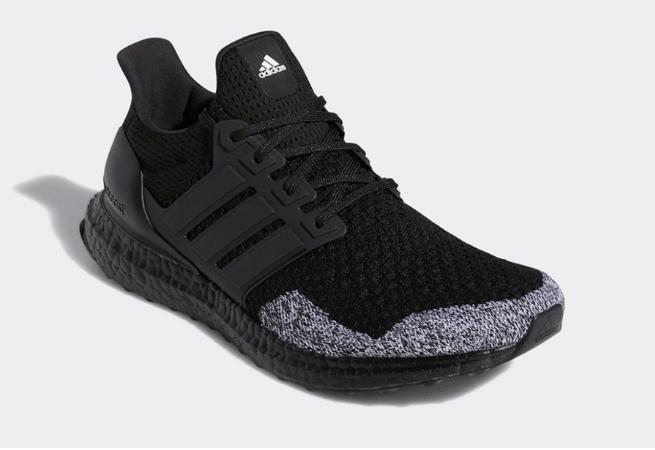 """阿迪达斯UB1.0奥利奥 adidas Ultra Boost 1.0 DNA """"Oreo Toe"""" 阿迪达斯UB黑色BOOST轻跑鞋 货号:GZ3150-潮流者之家"""