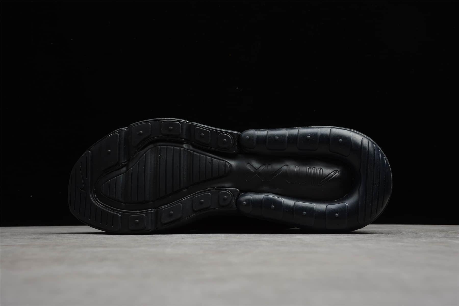 耐克MAX270OW联名款黑色 Nike Air Max 270 x Off White 原厂耐克一比一复刻 耐克OW联名 货号:AH8050-005-潮流者之家