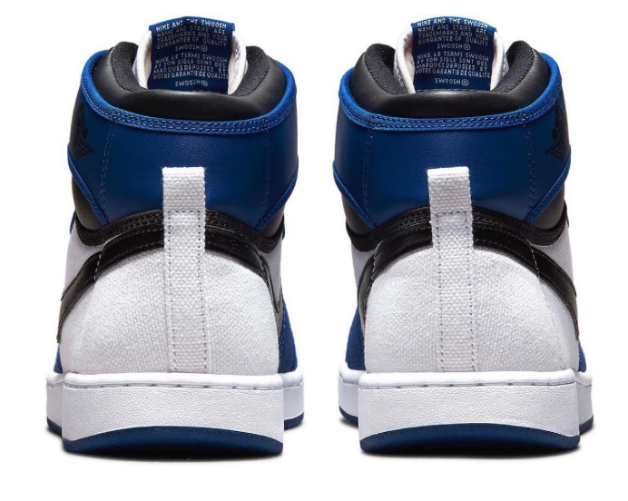 "AJ1白蓝中帮帆布鞋发售日期 Air Jordan 1 KO ""Storm Blue"" 小闪电AJ1官图 货号:DA9089-401-潮流者之家"