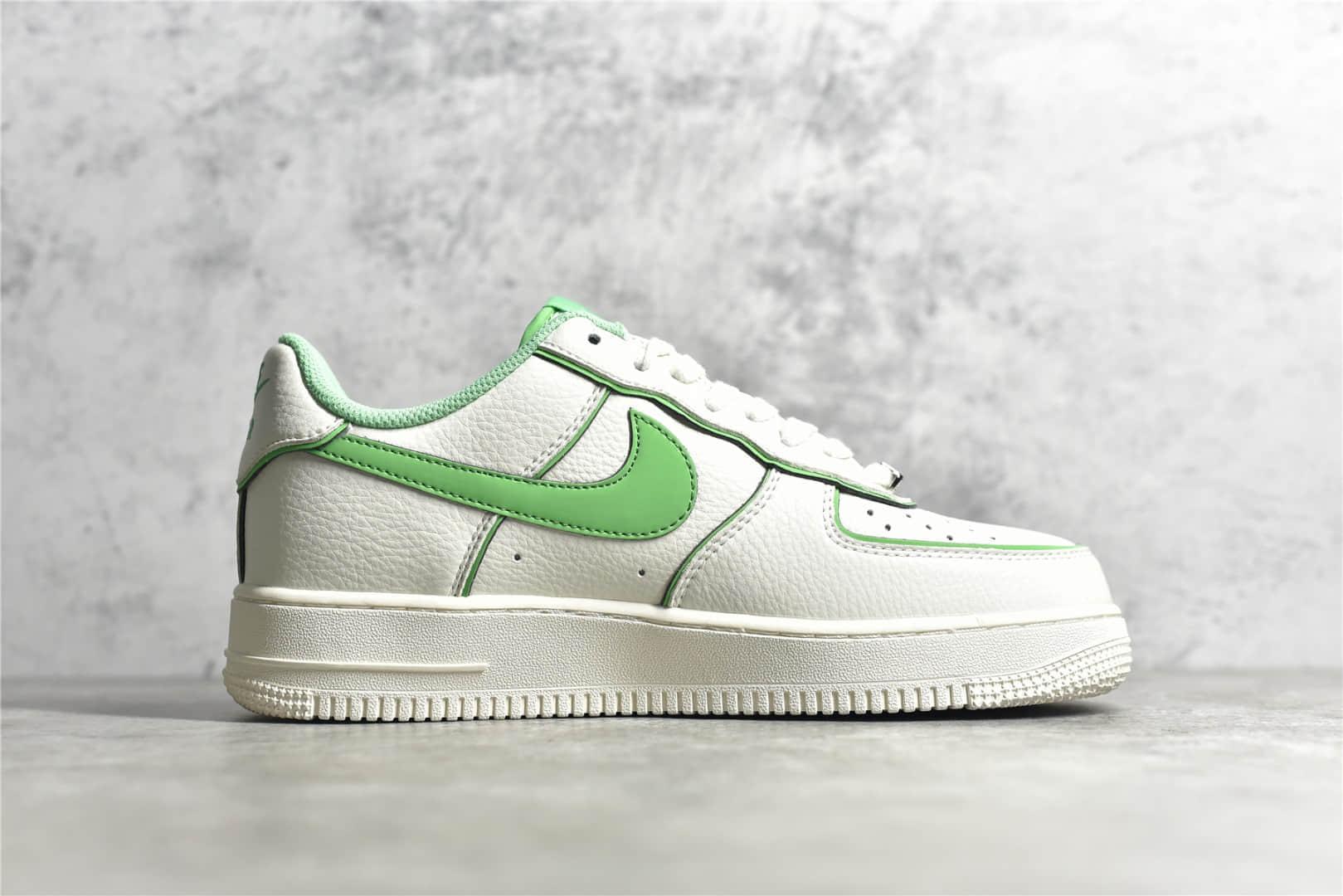 耐克空军夜魔侠低帮 Nike Air Force 1 07 Low 耐克空军米白绿低帮 耐克空军3M反光 货号:UH8958-022-潮流者之家