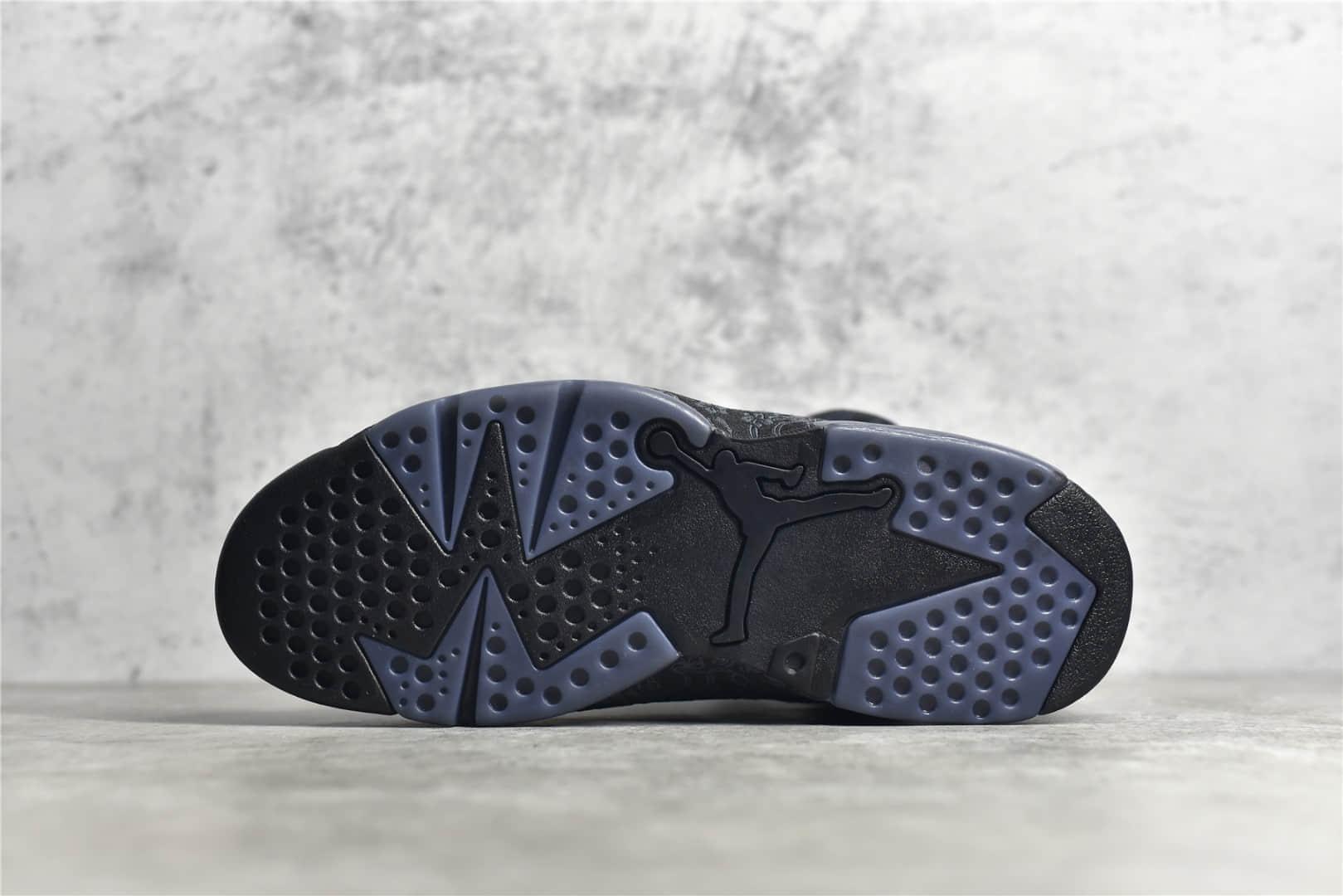 """AJ6黑丝绸中国结花卉纹理 Air Jordan 6 SD WMNS """"Singles Day"""" AJ6中国限定 AJ6黑色实战球鞋 货号:DB9818-001-潮流者之家"""