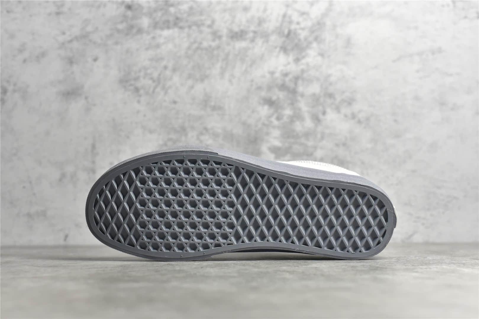 万斯C2H4联名灰色帆布鞋 C2H4 x Vans